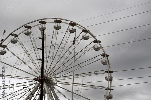 Poster Amusementspark Ferris wheel at the Arizona State Fair
