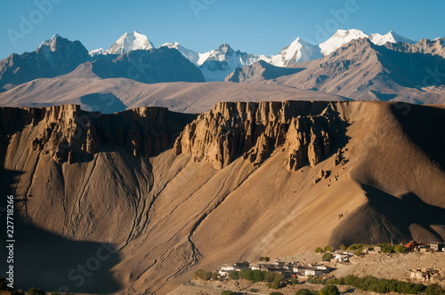 Mountain landscape in Tibet, China
