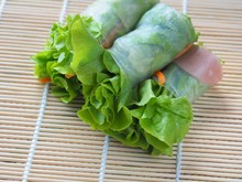 Salad Roll Includes Fresh Vege...