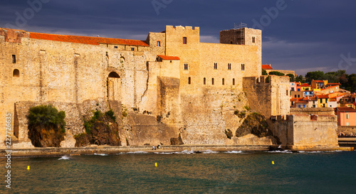 Foto op Plexiglas Europa Photography of french seafront in Collioure