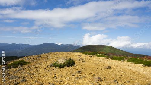Tuinposter Canarische Eilanden 安達太良山鉄山から東方向