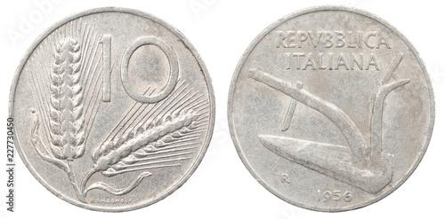 Fotografia, Obraz  Old Italian Coins