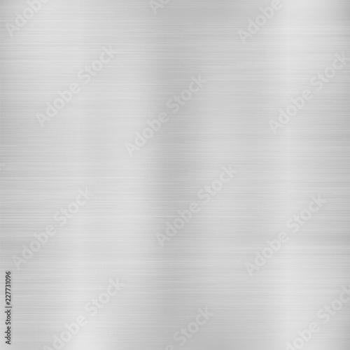 Poster de jardin Metal Metallic silver geometric abstract background modern design, Vector illustration