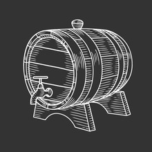 Hand Drawn Barrel