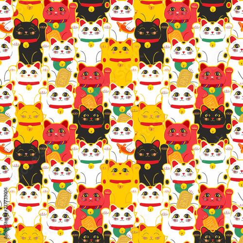 Photographie  Maneki-neko cat
