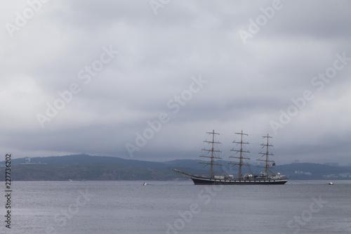 Fotografía  Very big sailing vessel