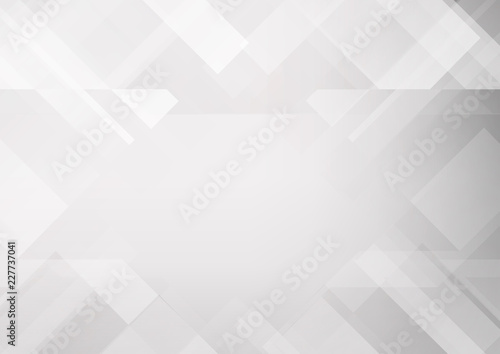 154d83fbac05 Abstract grey and white tech geometric corporate design background eps 10.Vector  illustration