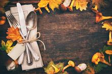 Thanksgiving Autumn Place Sett...