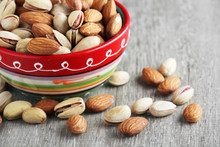 Mix Of Almond And Pistachio In...