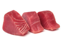 Slices Of Raw Tuna Fish Meat