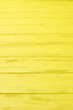 canvas print picture - Yellow colored wooden boards. Vibrant color horizontal planks background. Abstract wooden surface.