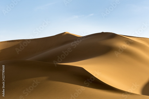 Cadres-photo bureau Secheresse beautiful sand dunes at dusk