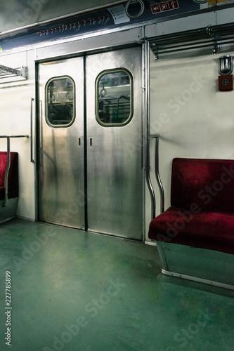 interior of old metro