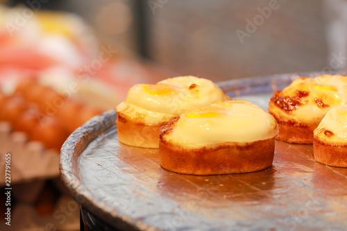 Photo  Korea street food , Korean Egg Cake in Seoul Korea