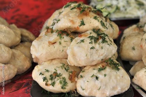 Foto op Canvas Klaar gerecht The National dish. Ukraine.
