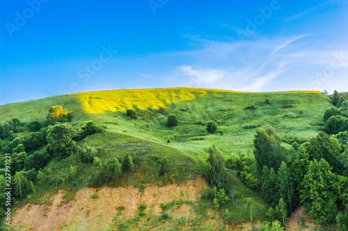 Spoed Foto op Canvas Nieuw Zeeland landscape in the mountains