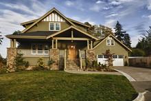 New Modern House Fall