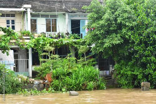 Fotobehang Tuin Sa Dec; Socialist Republic of Vietnam - august 18 2018 : picturesque city center