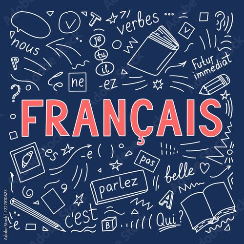 Fototapeta Francais. Translation: