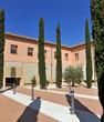 Patio de la Casa de la Misericordia, rectorado de la Universidad de Castilla la Mancha, Ciudad Real, España