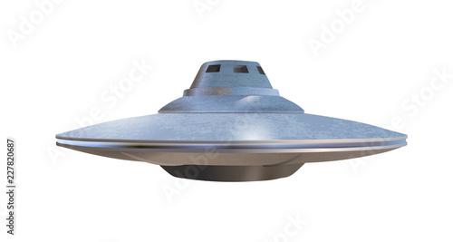 Photographie UFO - alien spaceship. Vector illustration.