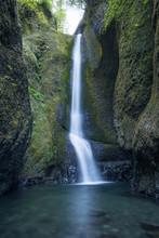 Waterfall In Oneonta Gorge Oregon