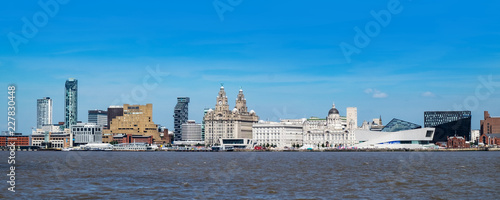 Carta da parati Liverpool waterfront panorama