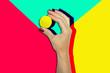 canvas print picture - Hand Beauty Pop Art