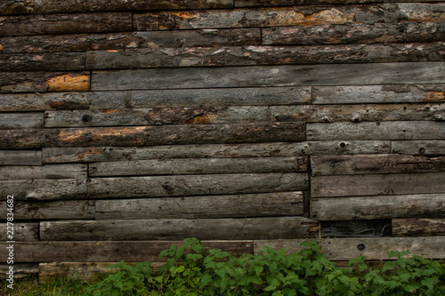 Photo parete di legno
