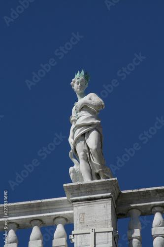 Foto op Aluminium Artistiek mon. Venice, Piazza San Marco, statue detail