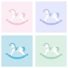 Baby Unicorn Rocking