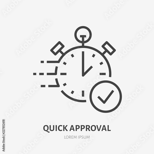 Fast Money Transaction Concept Sign Thin Linear Logo For Financial Services Quick Loan Roval Cash Transfer Online Payment Delivery Vector
