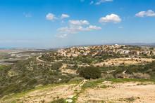 Panoramic View Of Zichron Ya'akov  Israel
