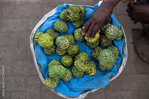 Foto op Plexiglas Eten Selection of Custard apple