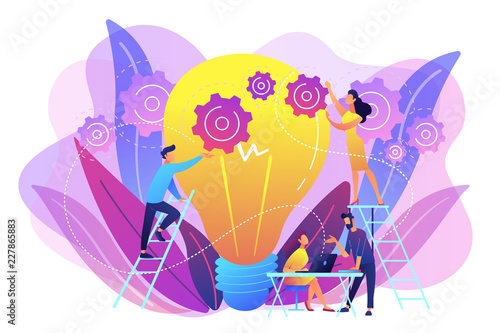 New idea engineering concept vector illustration.