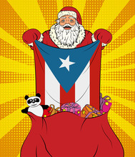 Santa Claus Gets National Flag...