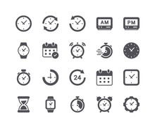 Minimal Set Of Time And Clock ...