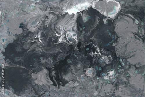Fotografia  Abstract light gray paint background