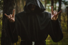 A Monk In The Hood