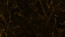Black And Golden Marble Textur...