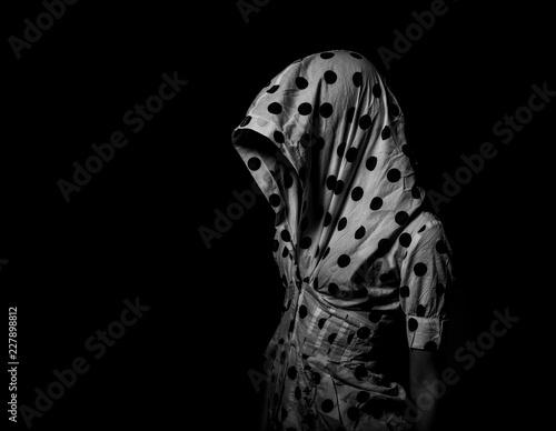 dark portrait Tablou Canvas