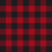 Lumberjack Plaid Pattern. Red ...