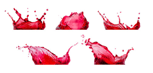 red splashes collection