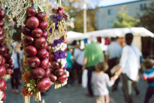 Onion Market Festival In Weimar