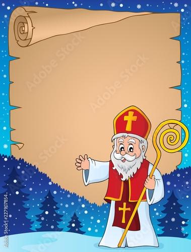 Saint Nicholas topic parchment 1