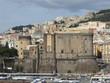 Neapel - Blick auf die Stadt, den Hafen und die Castelle