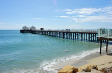 Malibu Pier Californien USA