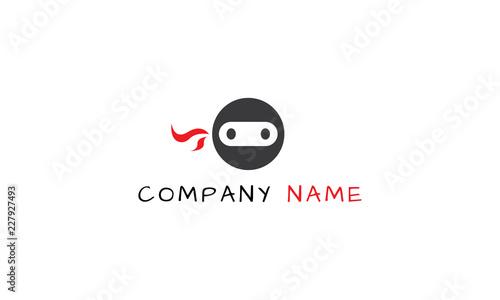 Fotomural Teenage Ninja vector logo image