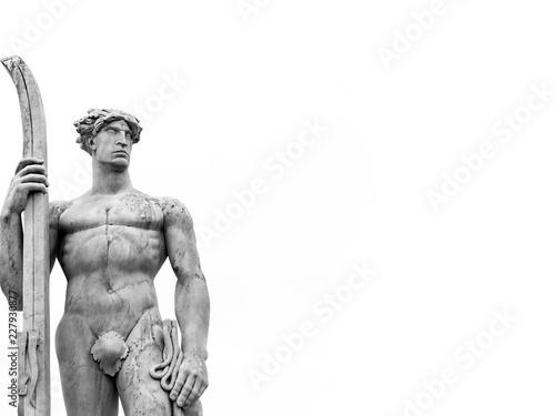Photo Statua di atleta Roma