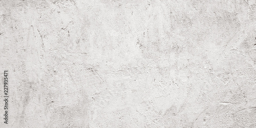 Photo  Blank grunge gray and white cement wall texture background, interior design back